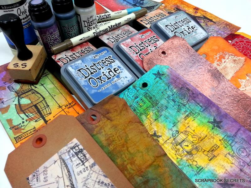 Distress Inks and Oxides