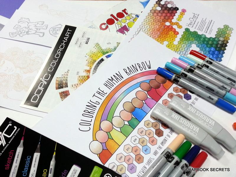 Copic Colouring