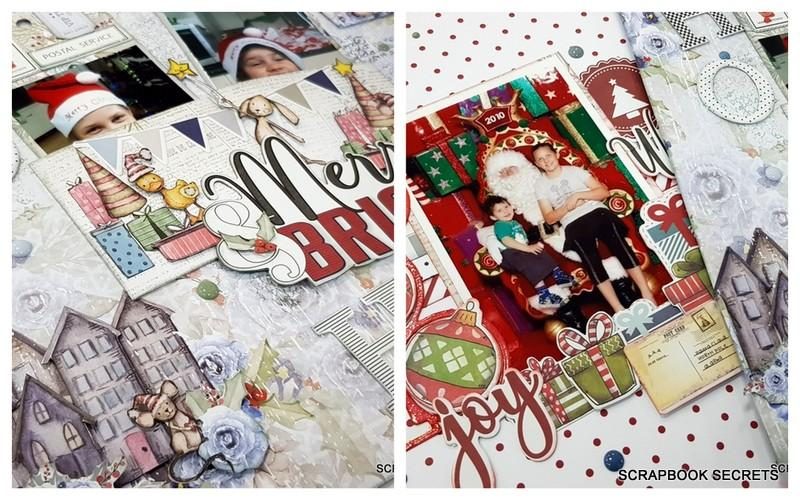 once upon a christmas layout